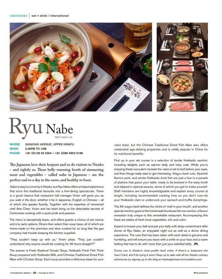 Ryu Nabe
